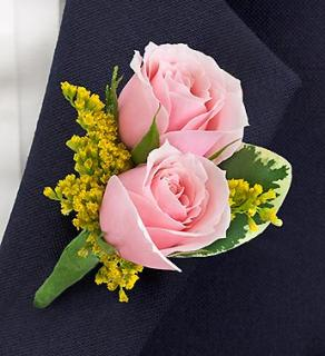 Pastel Ring Bearer Boutonniere
