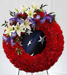 The To Honor Their Country™ Wreath