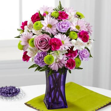 The Purple Pop Bouquet