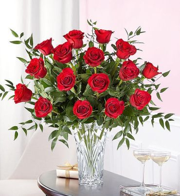 Marquis by Waterford Long Stem Red Roses