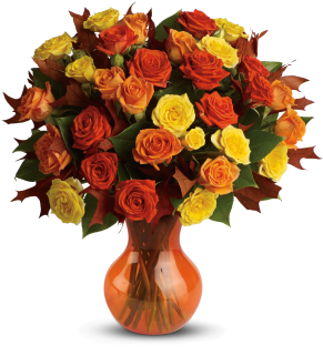 Fabulous Fall Mini Roses