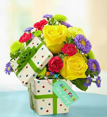 Celebrate the Day Present Bouquet