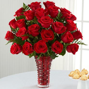 "The In Love with Red Rosesâ""¢ Bouquet"
