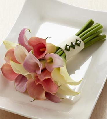 "The Calla Lily Promiseâ""¢ Bouquet"