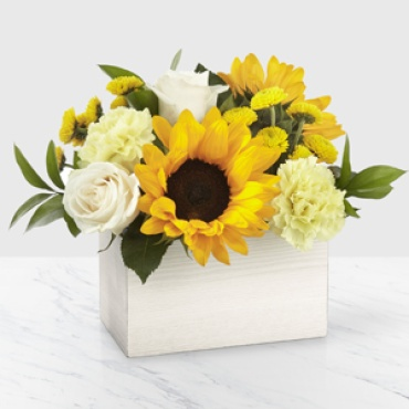 Sweet as Lemonade Sunflower Bouquet