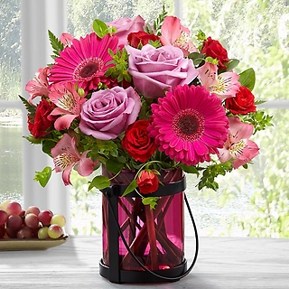 The Pink Exuberance Bouquet by Better Homes and Gardens®