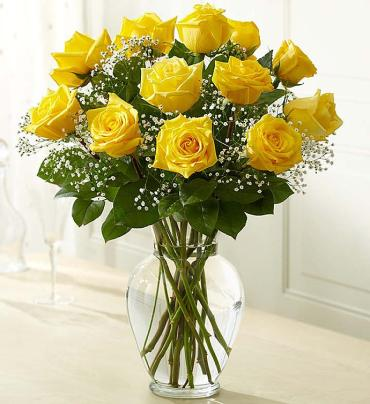 Rose Elegance Yellow Roses