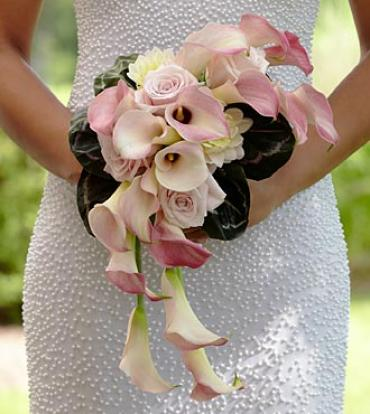 "The Pink Cascadeâ""¢ Bouquet"