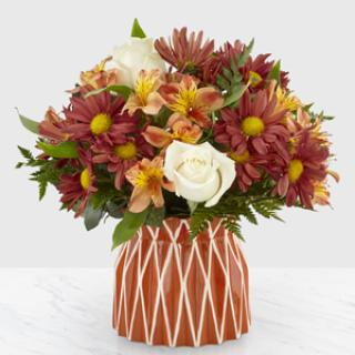 19F5 Shades of Autumn Bouquet