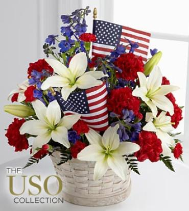 "The American Gloryâ""¢ Bouquet"