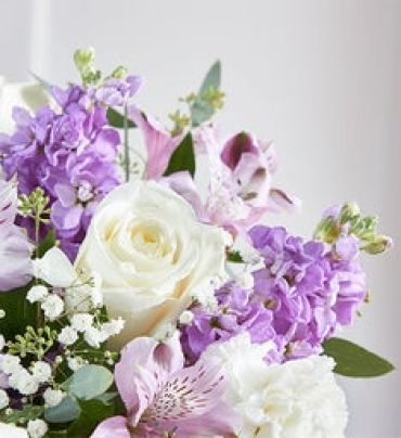 Florist Choice Bouquet Lavender and White