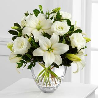The White Elegance  Bouquet by Vera Wang