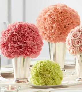 "The Bridesmaid Gardenâ""¢ Centerpiece"