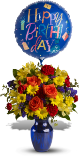 Fly Away Birthday Bouquet