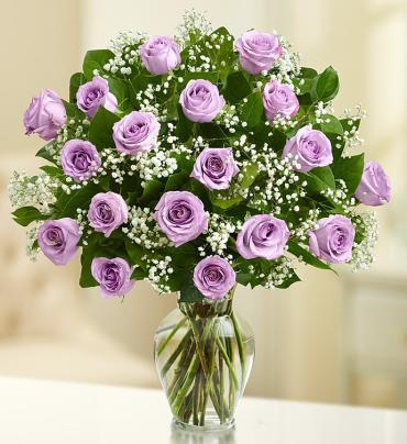 Rose Elegance Purple Roses