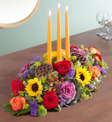 Garden Of Grandeur For Fall Centerpiece