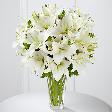 The Spirited Grace Lily Bouquet