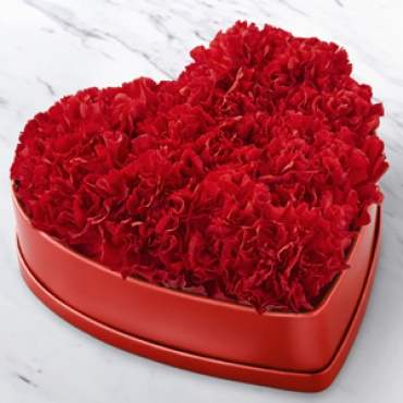 Heartfelt Carnation Box