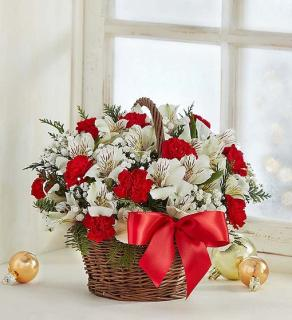 Fields of Europe Christmas Basket