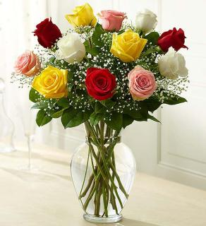 Assorted Rose Elegance