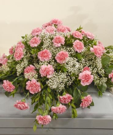 Large Carnation Casket Spray