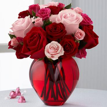 "The My Heart to Yoursâ""¢ Rose Bouquet"